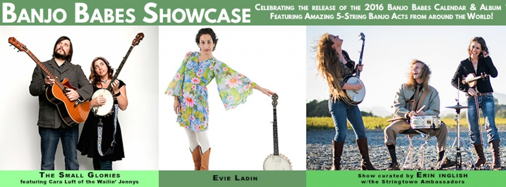 FB_Banner_Banjo Babes Showcase_2016 Calendar Tour_3 Acts Evie Solo_Nevada City