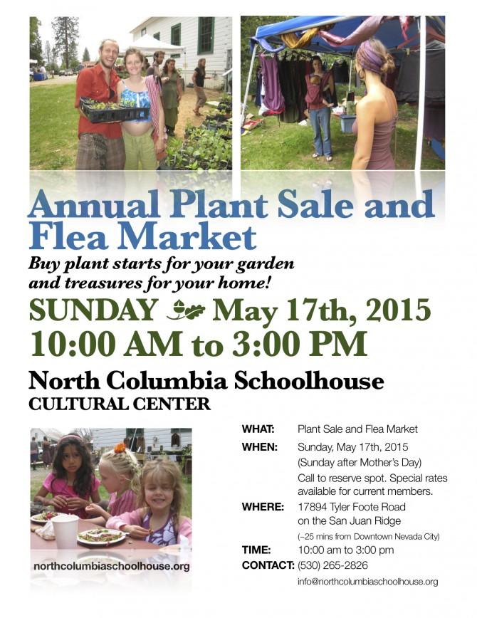 Plant Sale 2015 flyer